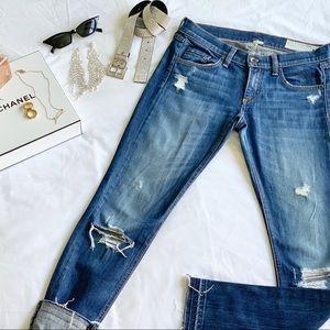 Rag & Bone ripped skinny jean
